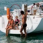 Семейный круиз на яхте
