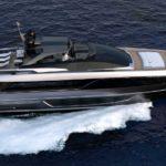Первая Riva 100 Corsaro спущена на воду