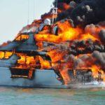 В ходе Atlantic Rally Cup на одной из яхт вспыхнул пожар