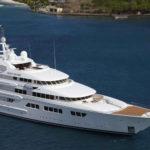 В Голландии власти задержали 76-метровую яхту Ebony Shine