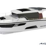 Финская компания Aquador Boats представляет новую разработку 35 AQ