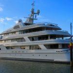 Голландцы арестовали 76-метровую мега-яхту «Ebony Shine»