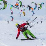 В Ярославской области завершилось соревнование по сноукайтингу