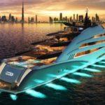 Верфь Oceanco представила на бот-шоу в Дубае мега-яхту Amara