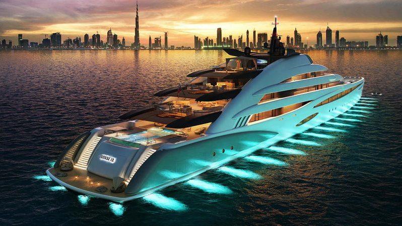 Невероятно красивая яхта admiral x force 145!