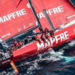 На яхте Mapfre сломалась мачта во время тренировок к Volvo Ocean Race