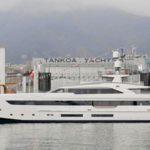 Новая яхта Tankoa S501 проходит ходовые испытания