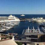 В Монако наблюдается большая активность яхт