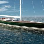 Финская верфь Baltic Yachts спустила на воду яхту Pink Gin VI