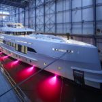 На воду спущена 50-метровая яхта «Project Nova»