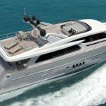Нидерландская верфь Van der Valk спустила на воду яхту проекта Continental
