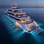 Columbus Yachts начала строительство своей первой мегаяхты