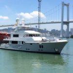 Китайскую яхту Nordhavn 9614 готовят к испытаниям