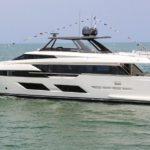 Вышла первая моторная яхта Ferretti 920