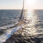 У яхты Франсуа Габара сломалась лата