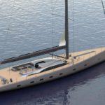 Oyster говорит, что их новая парусная яхта станет водным Aston Martin