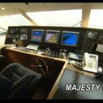 В Персидском Заливе Корабль Величества Яхты 101 Австралийский Суперяхт.Ави