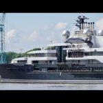4К | новые взгляды на яхте грома проект — метровой верфи