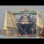 4К | поплавок из яхт-Обозревателе проектов гром — верфи Люрссен