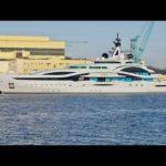 4К | Мега-яхта проекта Юпитер — Аль LUSAIL — это красота или зверь? — Судостроительный Верфей Lurssen