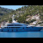 4К | красивая яхта РАИЛЬ мавров в моль порт-де-Сольер