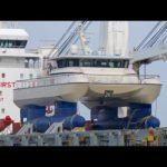 4К | Новый ВАЛОК яхта Al MAKHER — специальный транспорт на ХХЛ-Венеция Грузовое судно