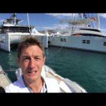 Мире яхтинга на борту верфь sunreef 68 Верховного в Каннах