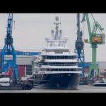 Мега яхты-Эксплорер луна — готов после восстановления Ллойд и стальные верфи
