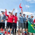 7-й этап Volvo Ocean Race и заслуженный триумф Brunel
