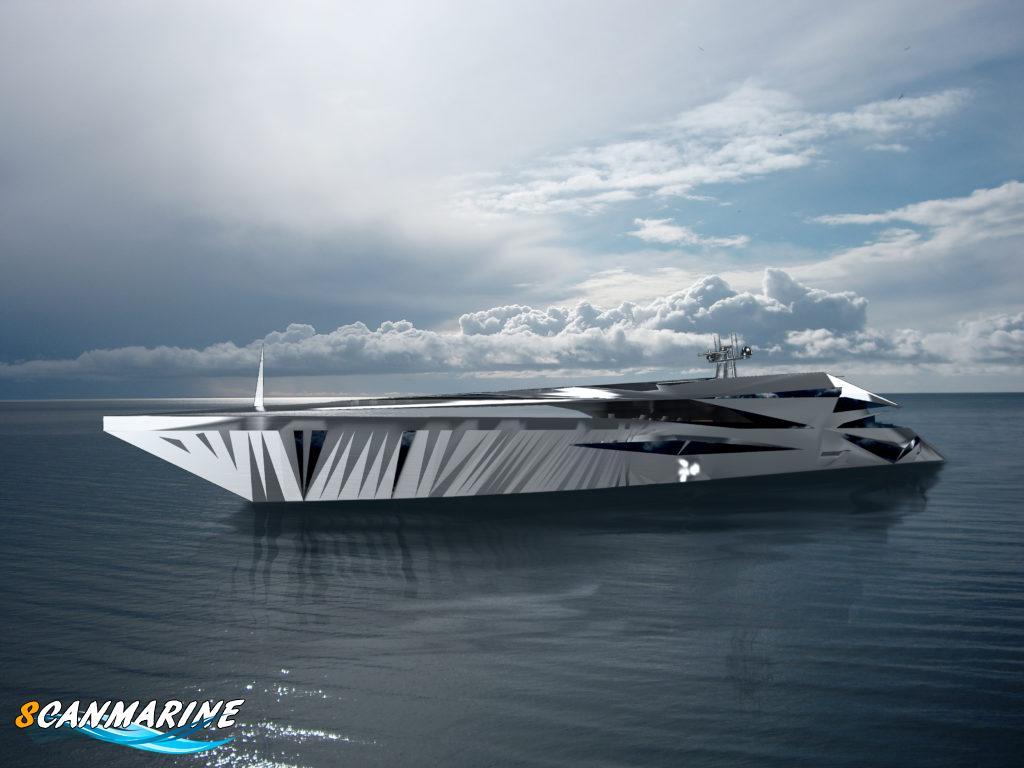 [:ru]Яхта из другого измерения – внеземной концепт Roswell [:ua]Яхта з іншого виміру - позаземний концепт Roswell[:]