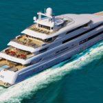Фотографии доставки 88.5-метровой яхты Illusion Plus