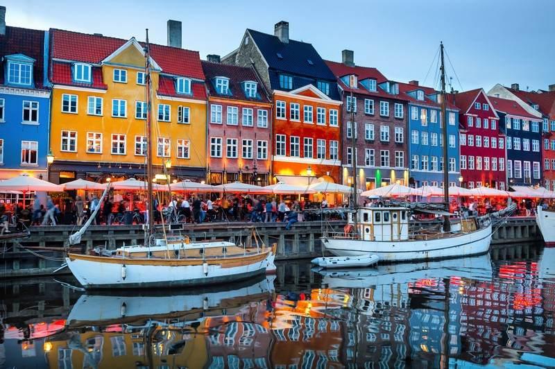 аренда яхты в Дании