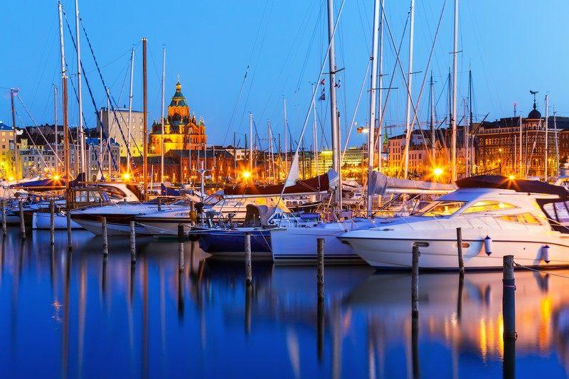 аренда яхты в Финляндии