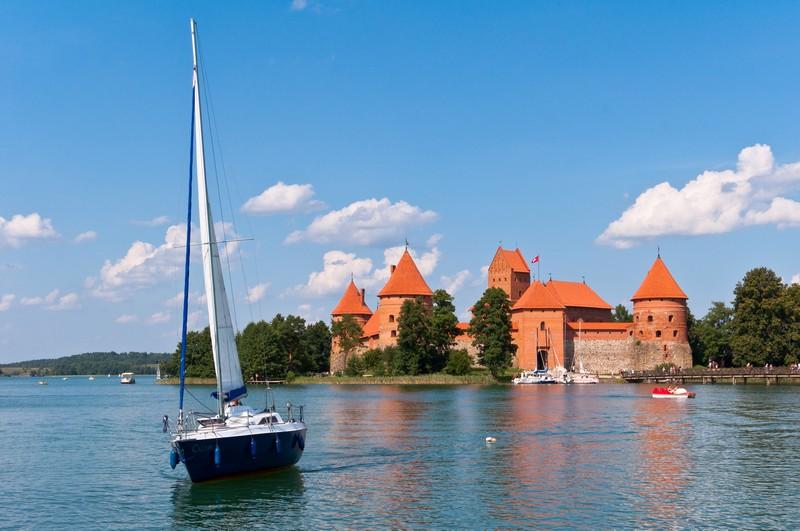аренда яхты в Литве