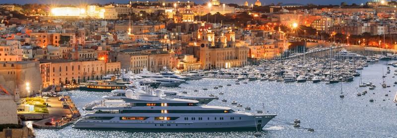 аренды яхты на Мальте
