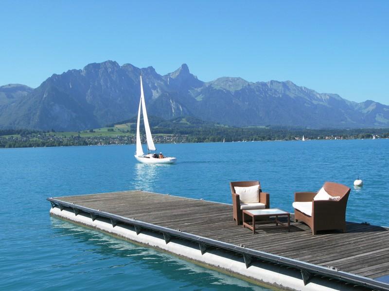 аренда яхты в Швейцарии