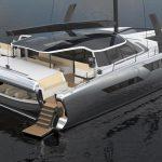 Эко-катамаран от Daedalus Yachts