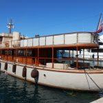 Винтажная яхта частного острова Танда
