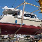 Новая яхта, возведенная на судоверфи в Калининградской области, передана клиенту