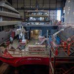 68-метровый Project Ragnar завершается на Icon Yachts