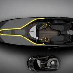 Концепция лодки в стиле Lamborghini от итальянской дизайн-студии Officina Armare