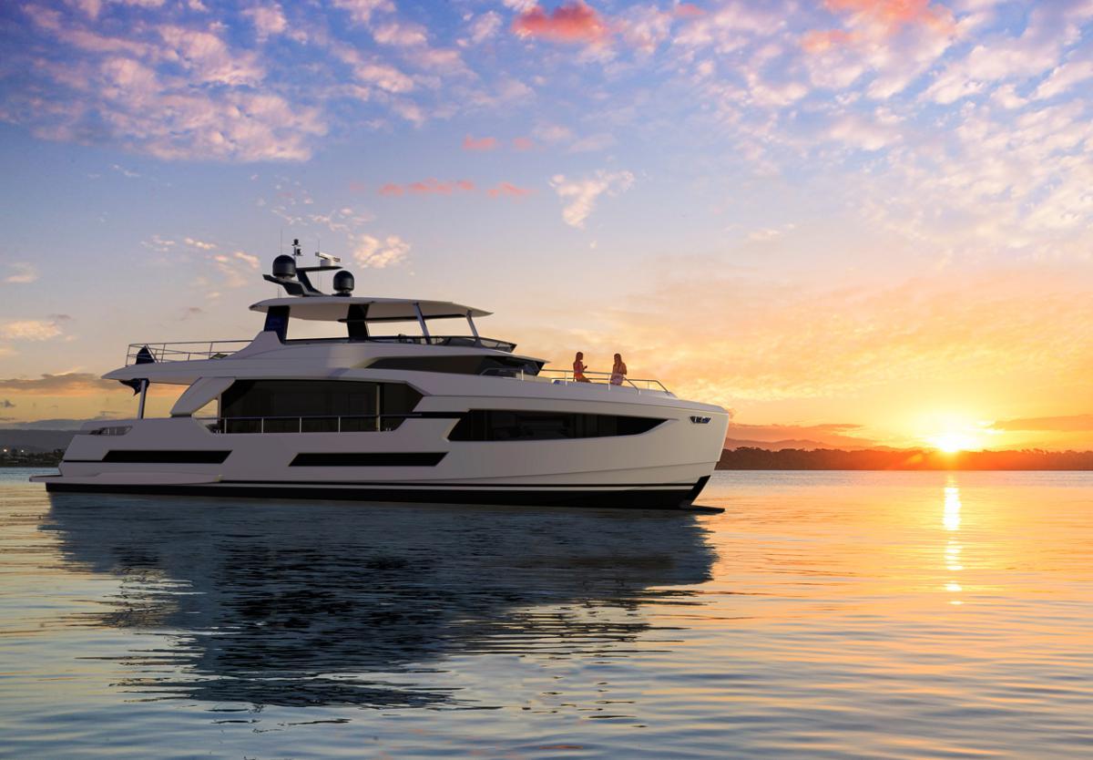 Horizon Yachts представила новую быстроходную яхту «начального уровня»