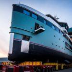 Первая экспедиционная суперяхта Damen SeaXplorer спущена на воду