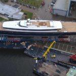81-метровая Sea Eagle II: Royal Huisman запускает самую большую в мире алюминиевую шхуну