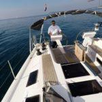Двойной руль на крейсерских и гоночных яхтах
