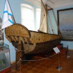 Яхта Петра Великого в музее Астрахани