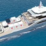 Echo Yachts открывает 50-метровый проект гуманитарного судна поддержки Echo