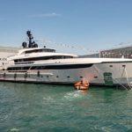 Новый запуск: первая яхта Sanlorenzo 62Steel Lammouche