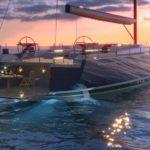 Гибридная технология на рынке парусных яхт 30-40 метров